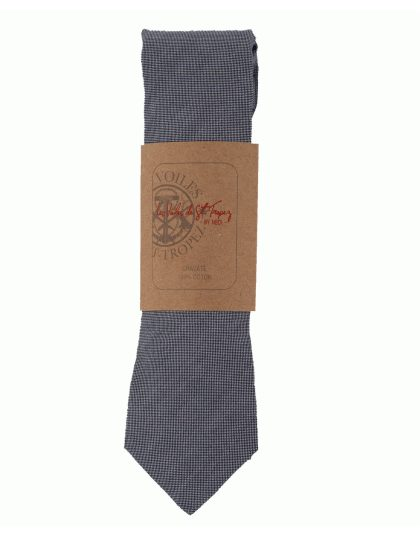 cravate-chambray-grise