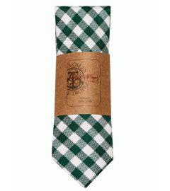 cravate-vichy-verte-2