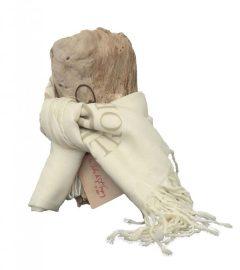 foulard-etamine-ecru