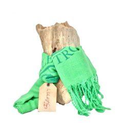 foulard-etamine-vert