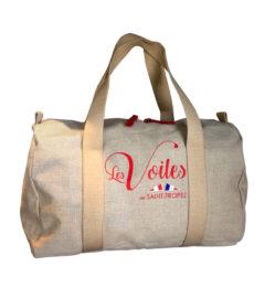 sac voilier lin