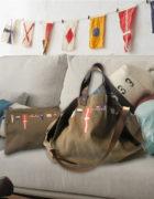 pochette +sac fanion beige 3