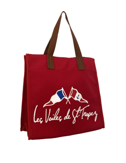 sac canebier rouge