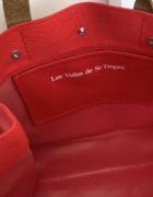 sac canebier rouge intérieur