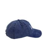 casquette bleu coté
