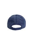 casquette bleue arrière
