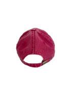 casquette rouge arrière